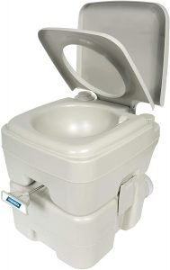 Camco 41541 Portable Travel Toilet-Designed for Camping, RV, Boating and Other Recreational Activities