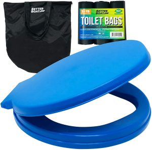 Portable Toilet Bucket Toilet Seat Set for Camping Boating Outdoor